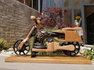 La moto à coudre