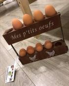 support à œufs indus